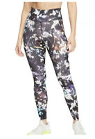 NWT Nike The One Tight-Fit Floral Printed Mid Rise Tights Women's Size XL New M1