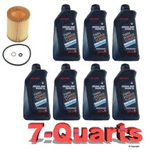 7-Quarts Genuine BMW Synthetic 5w30 Motor Oil &1-Oil Filter for BMW