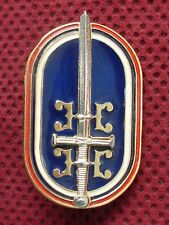 REPUBLIC OF SERBIAN KRAJINA - UNIT FOR ANTI-TERRORIST OPERATIONS BREAST BADGE RR
