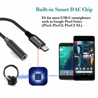USB C Adapter to 3.5mm Audio Jack Earphone Headphone Cable for Type C Interface