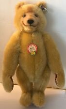 1985 Steiff Dicky Bear Replica 1930 - W Papers 13 Inch