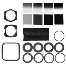 Complete ND2/4/8/16 Filter Kit F. Cokin P+Square Filter Holder+Adapter+Hood C1G6