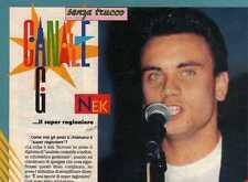 SP82 Clipping-Ritaglio 1993 Intervista Nek...il super ragioniere