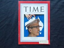 1942 MARCH 30 TIME MAGAZINE - GENERAL MACARTHUR - T 807