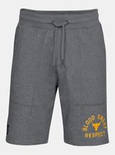 UNDER ARMOUR UA X PROJECT ROCK RESPECT GREY SHORTS WICKS AND DRIES FAST