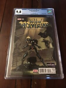 All New Wolverine #2 CGC 9.8 First App. Gabby, Bellona & Zelda Kinney