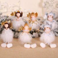 Parteien Der Weihnachtsbaum Hängt Christmas Ornament Anhänger Plüsch Engel Doll