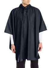 CHARLES RIVER APPAREL MEN'S PACIFIC RAIN PONCHO, NAVY, ONE SIZE FITS MOST