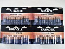96 Duracell Coppertop AAA Alkaline Batteries 4 Packs of 24 Expire March 2028