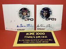 Unstoppable UFO Series 3 WHITE & GREEN BOX 38x GOLD & SILVER FOIL Auto Card Set