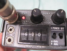 *WOW* CTCSS+WORKS:) ICOM IC-4AT VINTAGE 440/70 CM UHF HAM RADIO  IC4AT IC4A HT