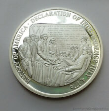 American Mint American Independence 20 Gram 40mm .999 Pure Silver Coin