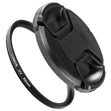 62mm UV Filter & Objektivdeckel passt zu Tamron 70-300 18-200 18-270 90mm Macro