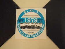 Imposta ITALIANO DISCO 1979-FIAT 500 600 126 LANCIA BETA GIULIETTA ALFA GTV6 ABARTH