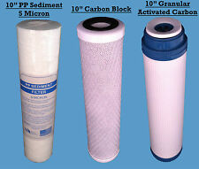 "10"" Reverse Osmosis Replacement RO Water Filters fits all RO , Water Fed Pole"