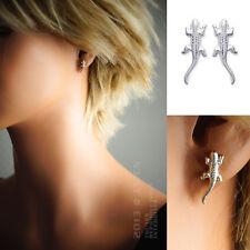 Boucles d'oreilles Iguane en ARGENT NEUF -14407- BigBang-Bijoux.com