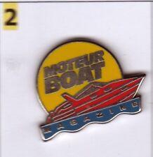 Pin's Media presse rare Moteur boat magazine Bateau