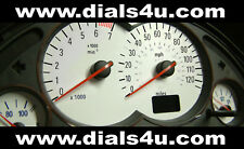 VAUXHALL CORSA C (2000-2006) 120mph or 140mph (Petrol or Diesel)  WHITE DIAL KIT