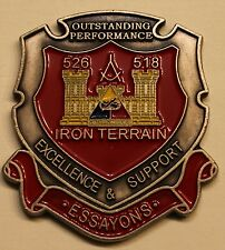1st Armored Division 526/518th Engineer Detachment Army Challenge Coin