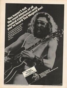 1978 Ted Nugent - Vintage Music Ad