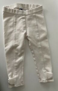 NWOT Janie and Jack Girls Cream/Ivory Pants Size 18-24 Months