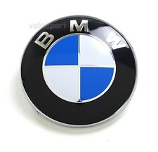 BMW 82mm ROUNDEL EMBLEM for Hood or Trunk ORNAMENT 51148132375 New
