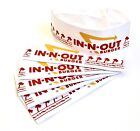 IN N OUT BURGER Paper Hats LOT 6 Halloween Costume Party Dress Up NEW FREE SHIP