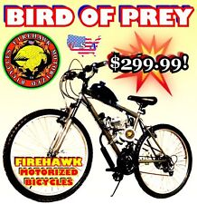 USA SELLER NEW 2018 BIRD OF PREY COMPLETE 50 80CC GAS MOTOR & BIKE MOPED SCOOTER