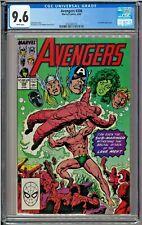 Avengers #306 CGC 9.6 White Sub-Mariner Black Panther Lava Men John Byrne