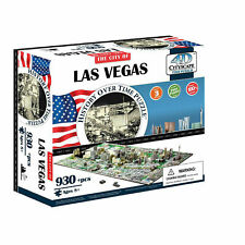 4D Cityscape Jigsaw Puzzle - Las Vegas City Map With Time Layer Brand New in Box