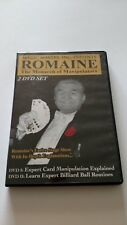 Magic & Manipulation - The Incomparable Romaine - Monarch of Maipulators 2 DVDs