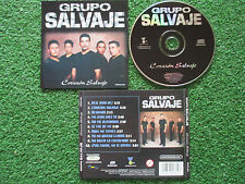Latin Tex Mex GRUPO SALVAJE **Corazón...** ORIGINAL & DELETED 2000 CD TEMERARIOS