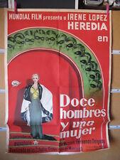 A5124 DOCE HOMBRES Y UNA MUJER FERNANDO DELGADO IRENE LOPEZ HEREDIA  AÑOS 30