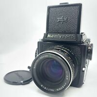 【NEAR MINT】 MAMIYA M645 + Waist Level Finder + SEKOR C 80mm f/2.8 from Japan 997