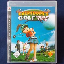 Ps3-PlayStation ► Everybody 's golf: World Tour ◄ dt. version | impecable
