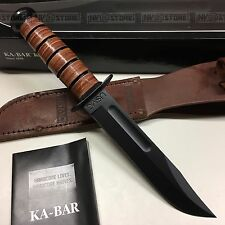 KNIFE COLTELLO KA-BAR USMC **ORIGINALE 100% MADE IN USA** SURVIVOR CACCIA (CFL)