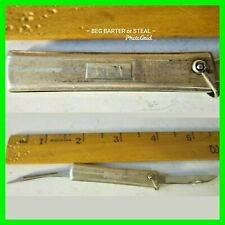 Vintage Tiffany & Co. Sterling Silver .925 Pocket Knife Nail File VOOS Blade FOB