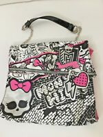 Girls Monster High Junior Purse Shoulder Bag Glitter Handbag Children's
