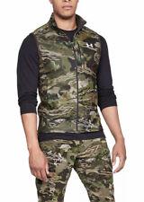 Under Armour Cold Gear Hunting Zephyr Fleece Vest Forest Camo XL 1316864-940