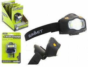 Summit Camping Fishing Summit Prolite LED COB 3W Headlamp Light 843012