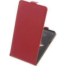 étui pour Archos DIAMANT GAMMA smartphone à Clapet Housse de protection à rouge