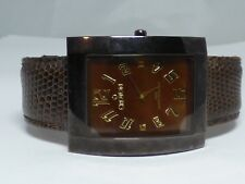 Mens Croton Watch Leather Band - Working