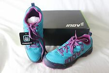 New Women's Inov-8 Roclite 280 Running Shoes EU 40.5 US 9.5 Blue $100 Training