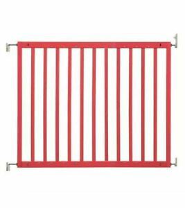New Badabulle wooden safety gate color Yellow 63-103.5cm Price Marked £44