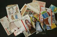 Vintage Lot Of Sewing Patterns And A Few Things Added For Sewing