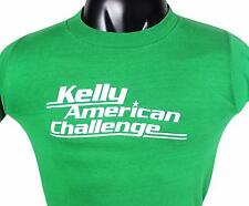 VTG 70s KELLY AMERICAN CHALLENGE T-SHIRT Small XS 50/50 Made In USA! IMSA Racing