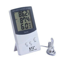 Indoor Home Digital LCD Thermometer Hygrometer Meter Temperature Humidity 、Fad