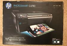"New ListingHp Photosmart C4780 All-in-One Print Inkjet Wireless Photo Printer Black ""New!�"