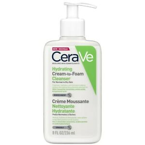CeraVe Hydrating Cream to Foam Cleanser 236ml - For Normal To Dry Skin