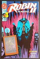 ROBIN DC COMICS OCT 1991 ROBIN II THE JOKER'S WILD #1 HOLOGRAM BATMAN JOKER